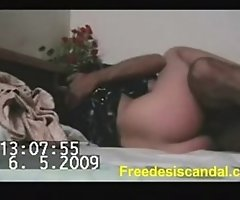 Hot desi charming dilettante Big black cock bitch screwed