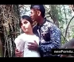 Most Beautiful with an increment of cute Indian girl kiss with an increment of boob pressed apart from bf elbow jungle elbow newPorn4u.com