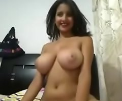 Indian Surprising College girl Webcam hot perfect boobs pussy