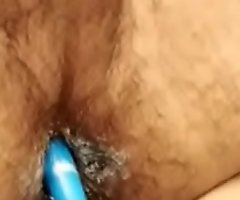Indian boy anal fucks dirty ass with dildo