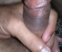 Indian guy in New York jerking for his GF