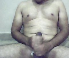 Indian guy masturbates on cam