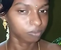 Tamil village girl recorded bring to light right after first night-time by husband