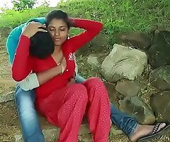 Desi couple dealings adjacent to farm