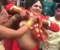 north indian nude dance