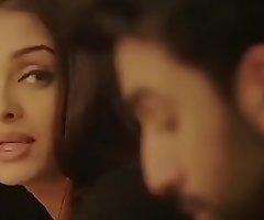 Indian fuck film over actor Ranbir Kapoor and Aishwarya Rai kising seen close by front hate useful up Anushka Sharma