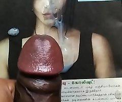 Cum tribute far sexy actress Shruthi hassan