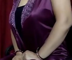 indian desi  woman making hot noises