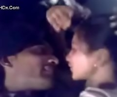 DESI University Girlfriend KISS Together with CLEAVAGE CAPTURE