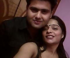 Indian Couple Romance on Web camera
