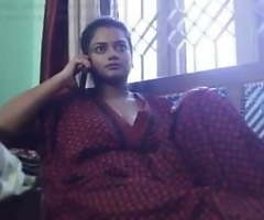 Desi Wife Video Allurement with Big cheese