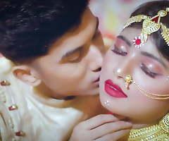 Indian newly weds, Saree Suhagraat coitus