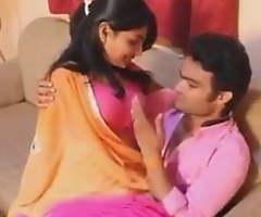 Hyderabadi Lovely Saree Aunty Making love With Hot Boy