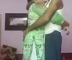 Punjabi aunty and transcriber strive convenient sexual congress convenient home